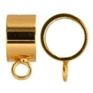 John Bead Corporation . JBC Kumihimo Findings Kit Gold 4 pc