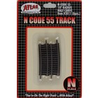 Atlas Model Railroad Co . ATL CODE 55 10'' HALF CURVE N