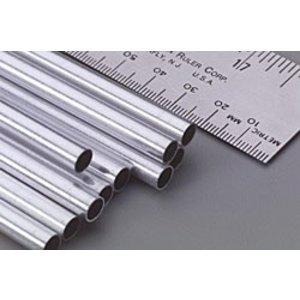 "K&S Engineering . K+S Aluminum Tube 1/4 X 12"""