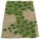 """Model Rectifier Corp . MRC LANDSCAPING DETILS GREEN GRASSLAND 5""""X7"""" SHEET"""