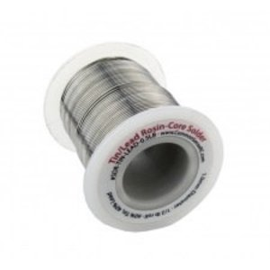 Common Sense R/C . CSR TIN/LEAD ROSIN-CORE SOLDER - 1.0 MM DIAMETER - 1/2 LB ROLL (P-32D)