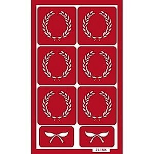 Armour Products (etch) . API Crests - Glass Etching Stencil