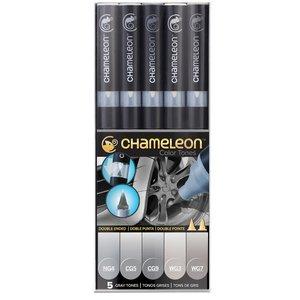 Chameleon . CHM Color Tones - Gray 5 Pens