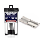 "Magcraft Magnets . MFM 1"" X 0.875"" Rare Earth Arc Magnet (2)"