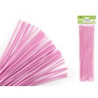 MultiCraft . MCI Chenille Stems - Light Pink