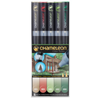 Chameleon . CHM Color Tones - Nature 5 Pens Adult Colouring Art Kits Painting Drawing Calgary