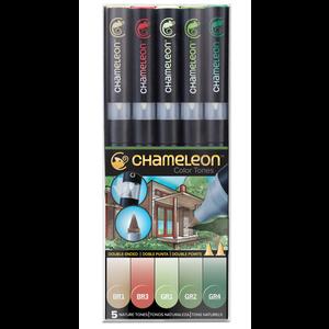 Chameleon . CHM Color Tones - Nature 5 Pens
