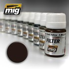 Ammo of MIG . MGA FILTER BROWN FOR DARK YELLOW