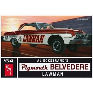 AMT\ERTL\Racing Champions.AMT 1/25 64 Plymouth Belvedere