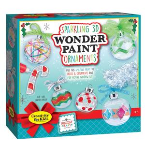 Creativity for kids . CFK Sparkling 3D Wonder Paint Ornaments