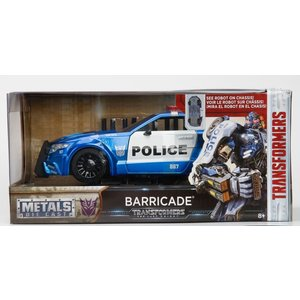 Jada Toys . JAD 1/24Transform  Barricade