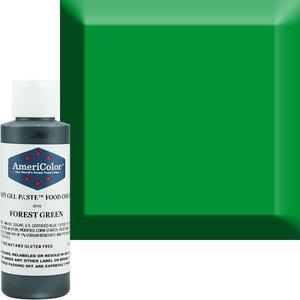 AmericaColor . AME AmeriColor 4.5oz Soft Gel – Forest Green