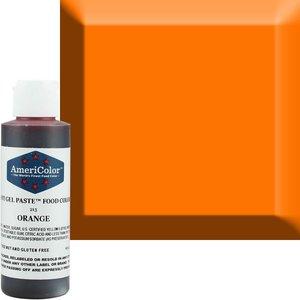 AmericaColor . AME (DISC) - AmeriColor 4.5oz Soft Gel – Orange
