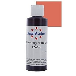 AmericaColor . AME (DISC) - AmeriColor 4.5oz Soft Gel – Peach