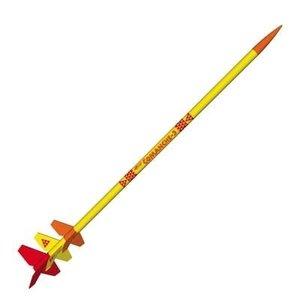 Estes Rockets . EST Comanche-3 Model Rocket Kit (LVL3)