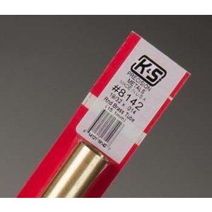 "K&S Engineering . KSE ROUND BRASS TUBE 19/32"""