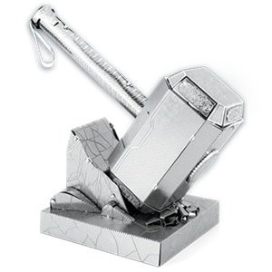 Fascinations . FTN Metal Earth - Marvel - Thor's Hammer