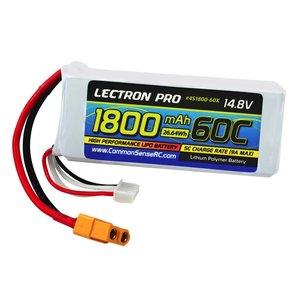 Common Sense R/C . CSR 14.8V 1800MAH 60C LIPO W XT60