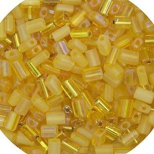 John Bead Corporation . JBC Tiny Flats Yellow Mix