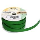 John Bead Corporation . JBC (DISC) - Flat Leather 10 X 2 mm Green