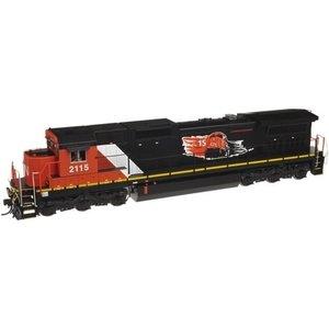 Atlas Model Railroad Co . ATL HO DASH 8-40C/DCC/SND CN #2113