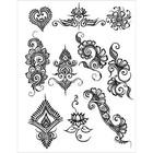 Earth Henna . ETH YOGA STENCIL PK PB5