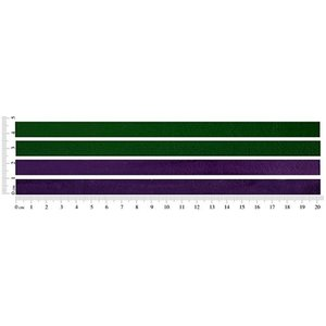 John Bead Corporation . JBC (DISC) - Flat Leather Green/Metallic Purple 10 X 2 mm