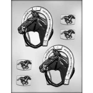 "CK Products . CKP 4-3/8"" Horse / Shoe Chocolate Mold"