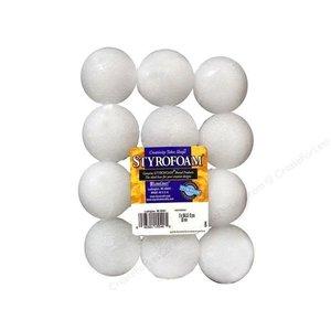 """Floracraft . FLC Styrofoam Ball 2"""" 12 pcs"""