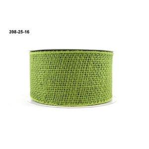 Floracraft . FLC Ribbon Wired Green 7 Yds