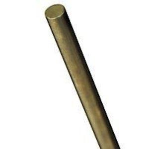 K&S Engineering . KSE 1/8 X 12'' Solid Brass Rod