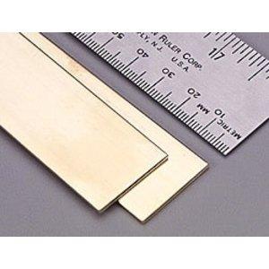 K&S Engineering . KSE 12X .064X2 Brass Strip