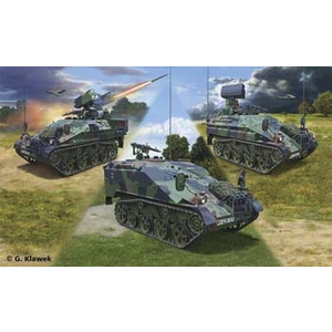 Revell of Germany . RVL (DISC) - 1/35 WIESEL 2 LEFLASYS