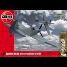 Airfix . ARX 1/48 Spitfire MKVB & BF109E