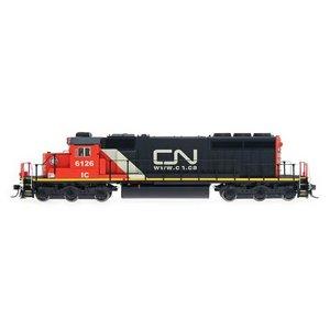Intermountain Railway Co . IMR HO ASSMBLD SD40-2 LOCO W/SND  CN/IC