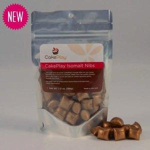 CakePlay . CPL 7 oz Bronze Isomalt Nibs