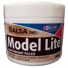 Deluxe Materials . DLM Model Lite Filler (balsa tint) 240ml