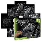 Royal (art supplies) . ROY Horses and Friends - Engrave Art Activity Set