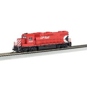 Bachmann Industries . BAC HO GP38-2/DCC/SND VAL CPR