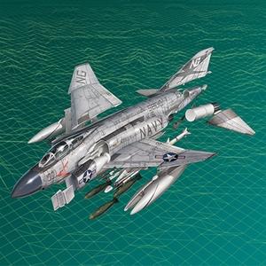 Academy Models . ACY 1/72 USN F-4J Showtime 100