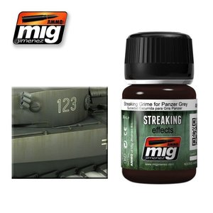Ammo of MIG . MGA STREAKING GRIME FOR PANZER GREY