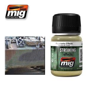 Ammo of MIG . MGA RAINMARKS EFFECTS
