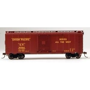 Bachmann Industries . BAC HO 40' BOX CAR UP