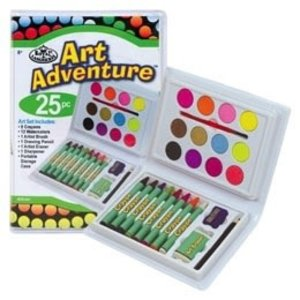 Royal (art supplies) . ROY Art Adventures Crayon 25