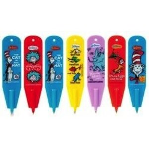 Geddes . GED Dr Seuss Bookmark & Pen in 1