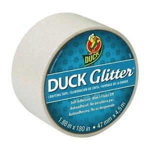Duck . DUK DUCK GLITTER TAPE WHITE