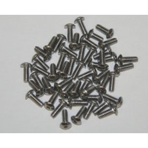 APS Racing . APS Stainless Steel Button Hex Screws 5 X 10MM