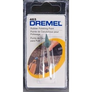 Dremel . DRE RUBBER POLISHING POINT
