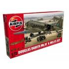 Airfix . ARX 1/72 DOUGLAS DAKOTA MKIII W/WILLY'S JEEP