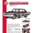 American Muscle Diecast . AMD 1/18 64 FORD THNDRBOLT P BO